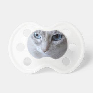 Blue Eyes Kisa Cat Pacifier
