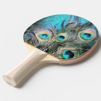 Blue Eyes Ping Pong Paddle