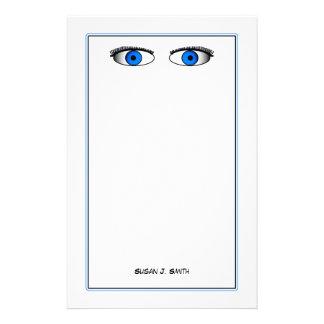 Blue Eyes Stationery