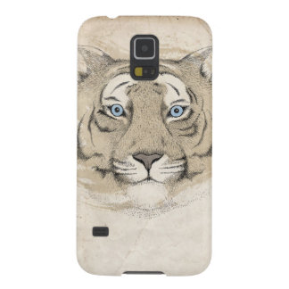 Blue eyes Tiger Samsung Galexy S5 Case