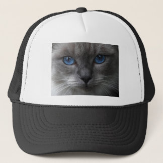 Blue eyes trucker hat