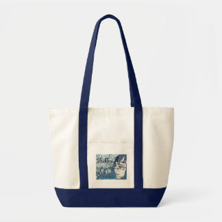 Blue Face Tote