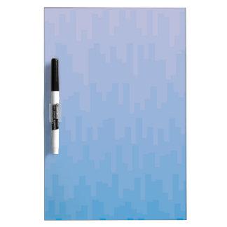 Blue Fade Dry Erase Board