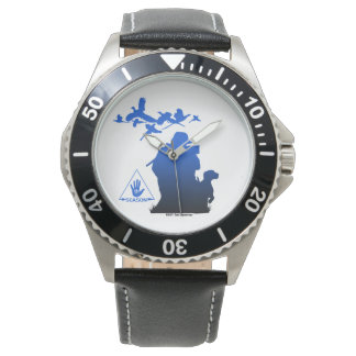 Blue Fade Michigan-Pheasant Hunter Watch