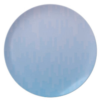 Blue Fade Plate