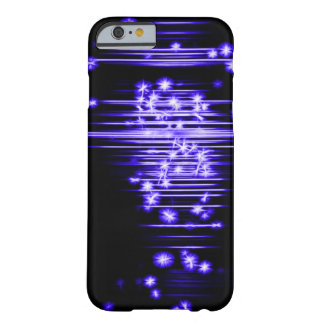 Blue Faerie Lights Fractal Art Barely There iPhone 6 Case