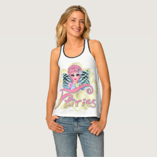 BLUE FAIRIE  2 AllOver Print RacerbackTankTop Tank Top