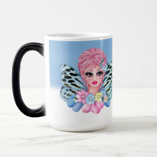 BLUE FAIRIE ANGEL CARTOON Morphing Mug 2