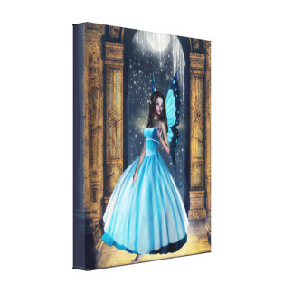 Blue Fairy Canvas Print