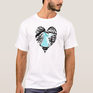 Blue fairy in the tree T-Shirt