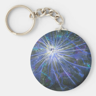 Blue fairy keychain