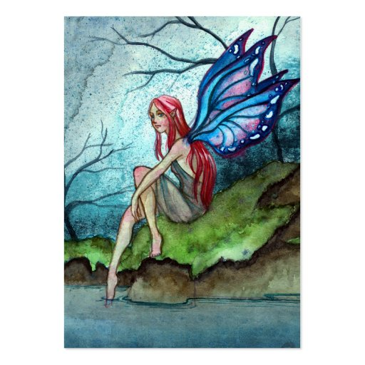 Blue Fairy Large Business Cards (Pack Of 100)