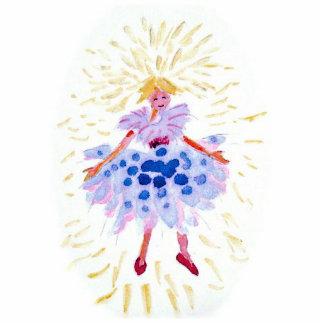 Blue Fairy Photo Sculpture Ornament