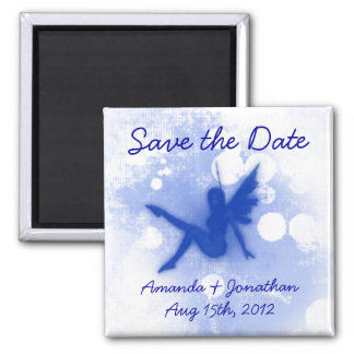Blue Fairy Save the Date Magnet