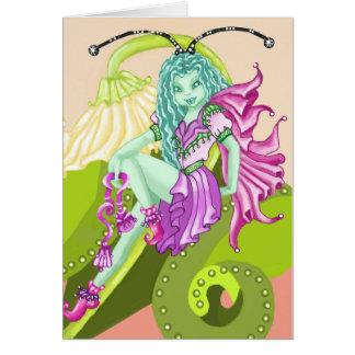 Blue Fairy Sprite Card