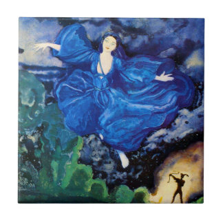 Blue Fairy Tile