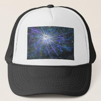 Blue fairy trucker hat