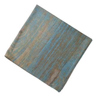 Blue Faux Beach Wood Texture Kerchiefs