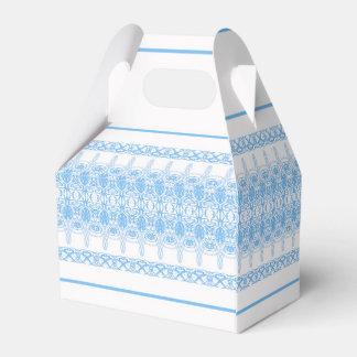 blue favor box