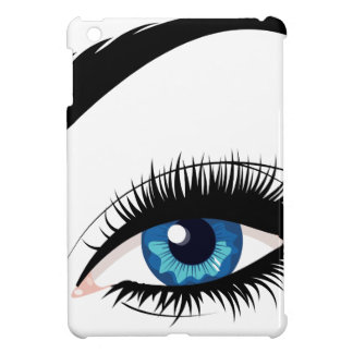 Blue Female Eye Cover For The iPad Mini
