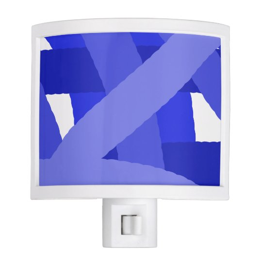 Blue Fest Abstract Night Light
