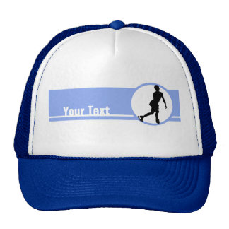 Blue Figure Skating Trucker Hat