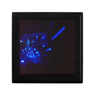 blue fire black with sparks gift boxes