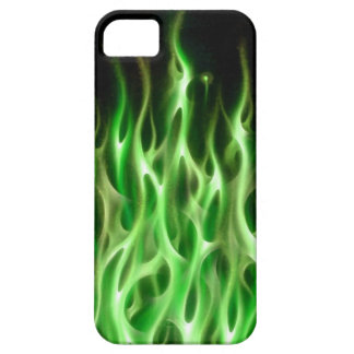 Blue Fire Flame design airbrush car custom cool ho iPhone 5 Cover