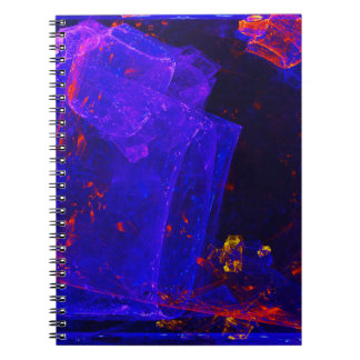 ☼BLUE FIRE OPAL☼ NOTEBOOK