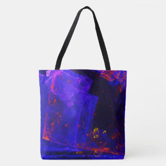 ☼BLUE FIRE OPAL☼ TOTE BAG