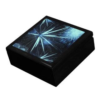Blue Fireworks Box Jewelry Box