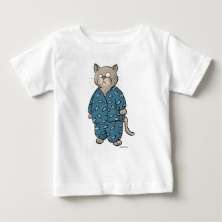 Blue Fish Pajamas Baby T-Shirt