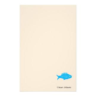 Blue Fish Stationery