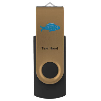 Blue Fish USB Flash Drive
