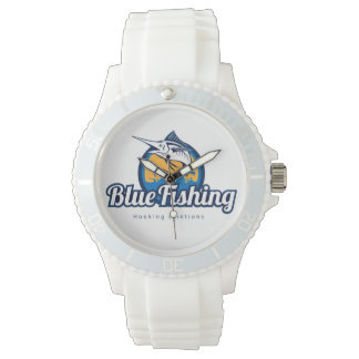 Blue Fishing Ladies Watches