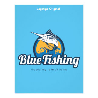 Blue Fishing Products Letterhead
