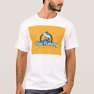 Blue Fishing T-Shirt