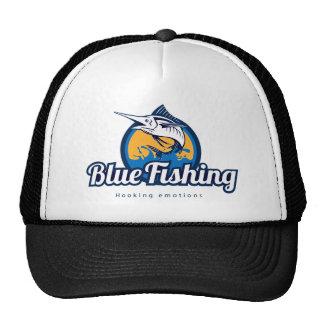 Blue Fishing Trucker CAP Trucker Hat