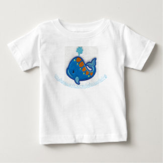 """Blue Fishy"" Baby T-Shirt"
