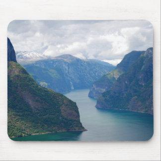 Blue Fjord Dream Mousepad