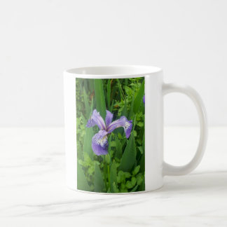 Blue Flag Irises Coffee Mug