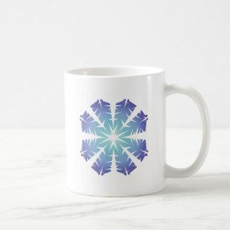 Blue Flake VII Mugs