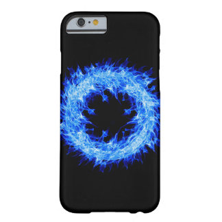 Blue Flame Barely There iPhone 6 Case