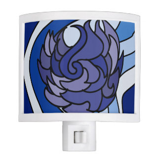 Blue Flame Night Light