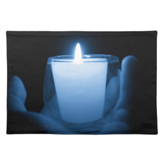 Blue Flame Placemat