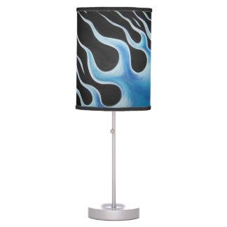"""Blue Flames"" design Lamp"