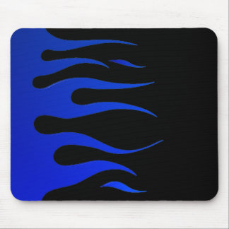 Blue Flames Mousepad