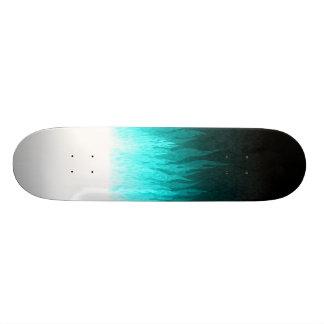 Blue Flames Skateboard