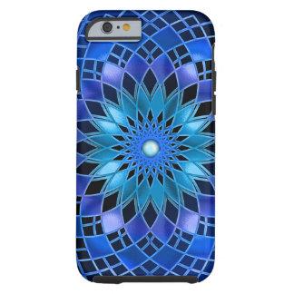 Blue Flare Tough iPhone 6 Case