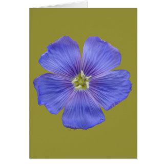 Blue Flax #1 Card